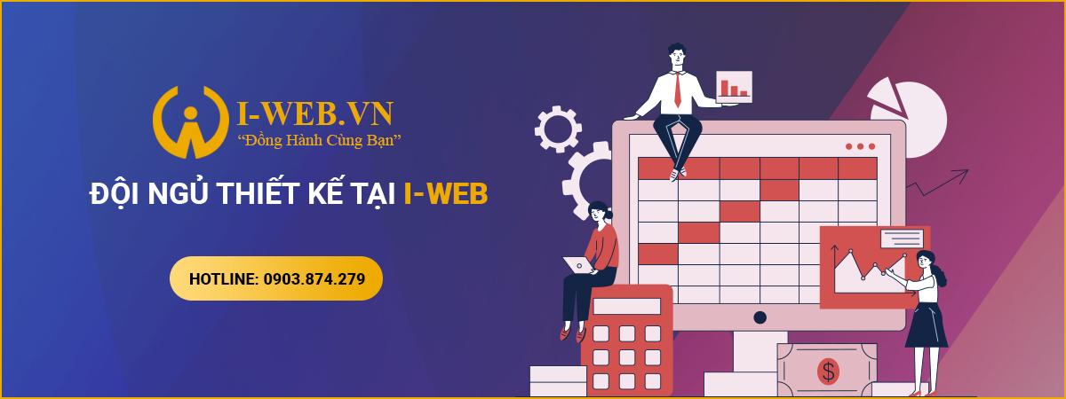 đội ngũ thiết kế web tai iweb