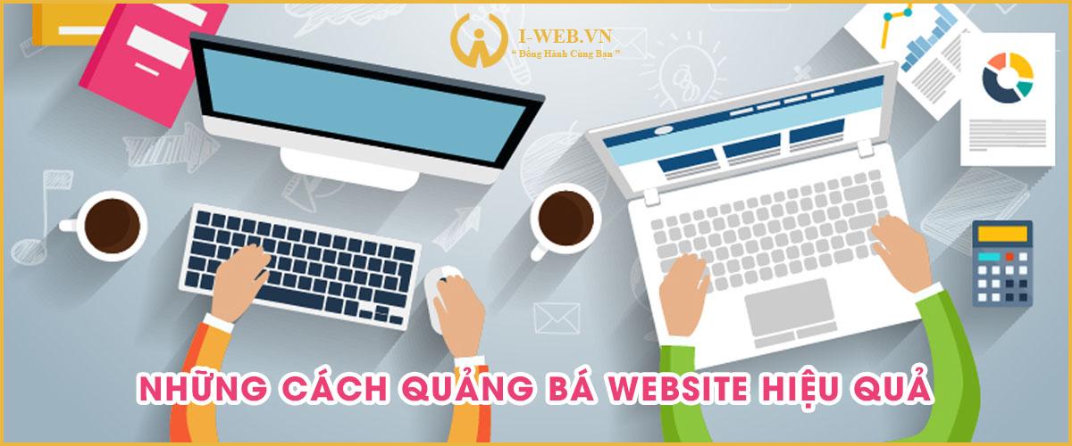cách quảng bá website hiệu quả