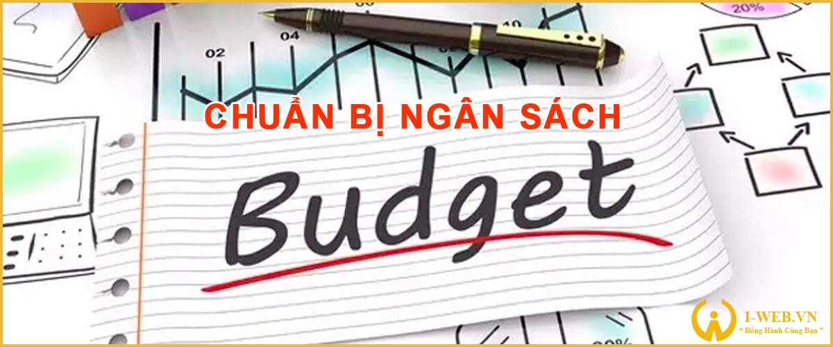 chuẩn bị ngân sách