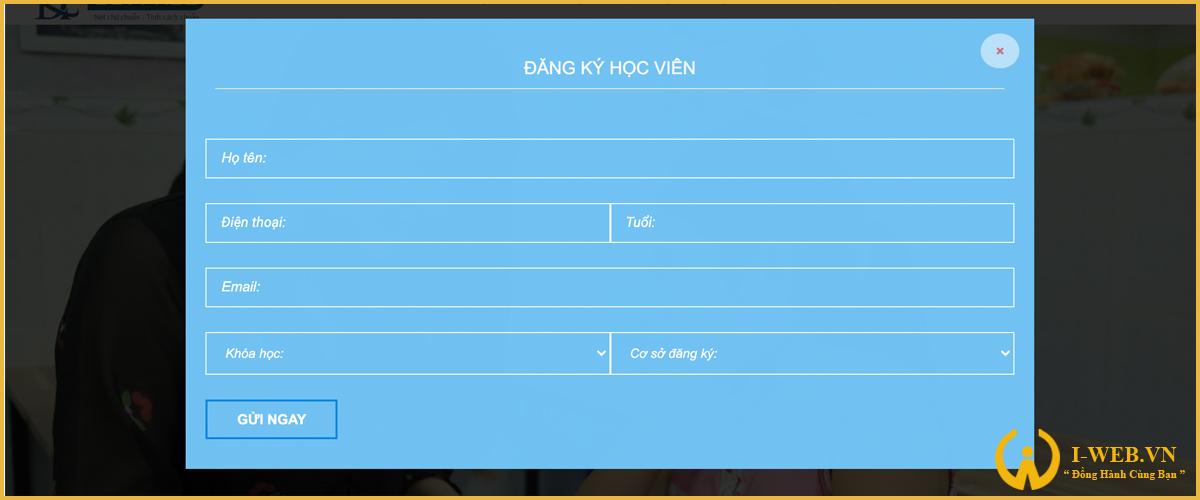 chức năng web luyện chữ