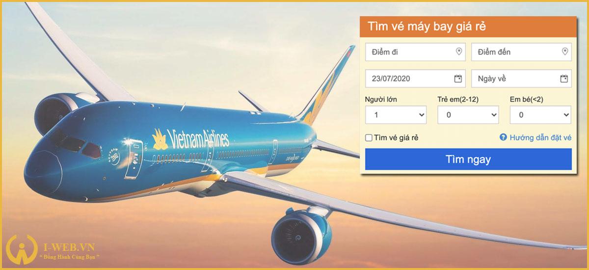 phân loại website vé máy bay