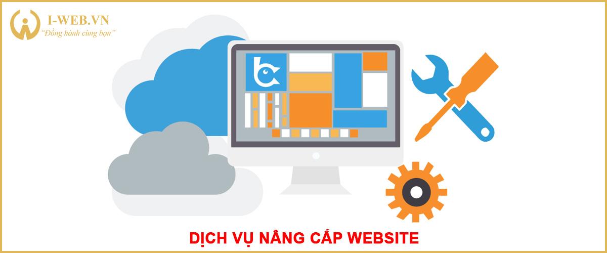 dịch vụ nâng cấp web