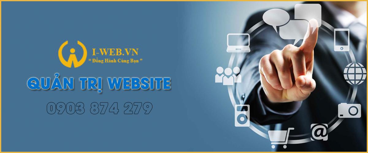 hình thức quản trị web