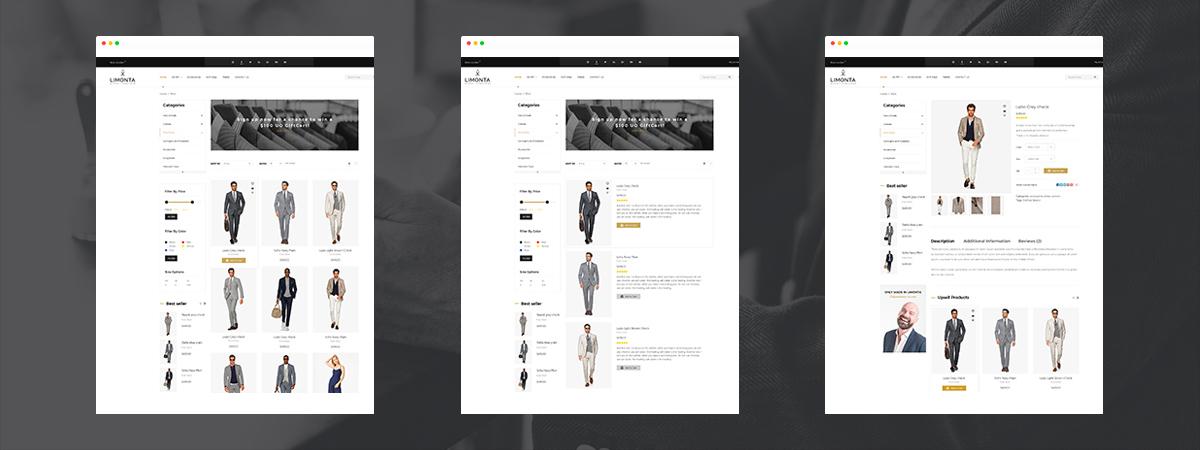 giao diện web bán hàng