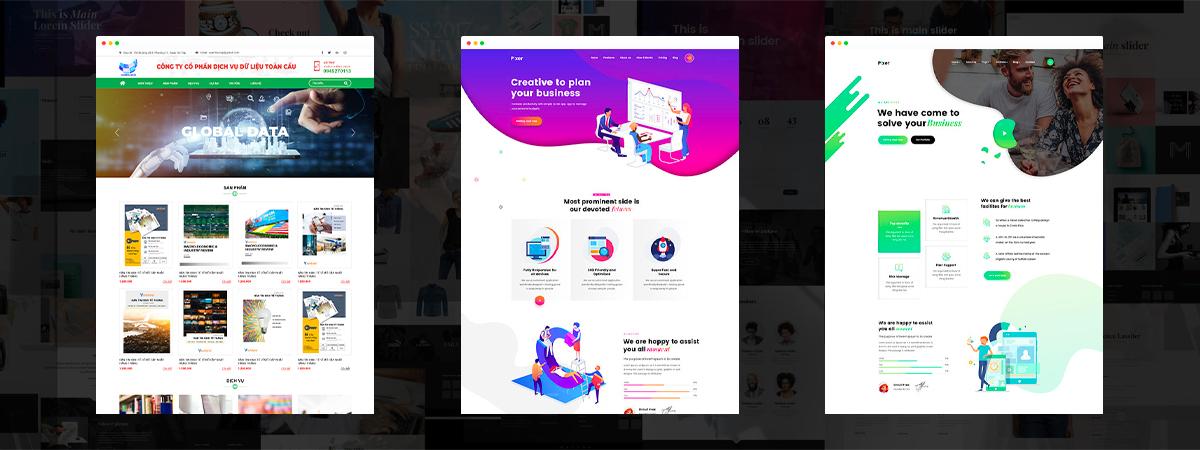dịch vụ thiết kế web công nghệ