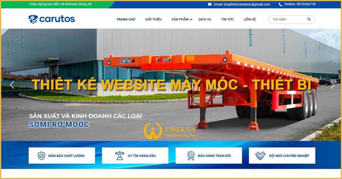 phân loại web máy móc, thiết bị
