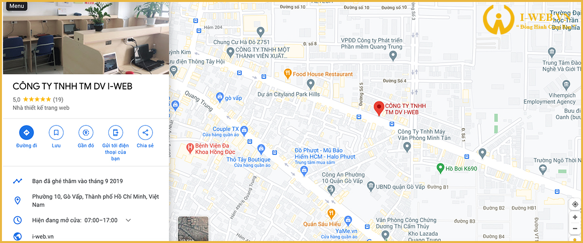 google maps doanh nghiệp