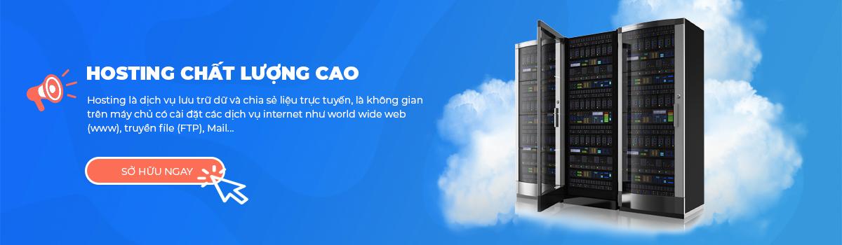 hosting chất lượng cao