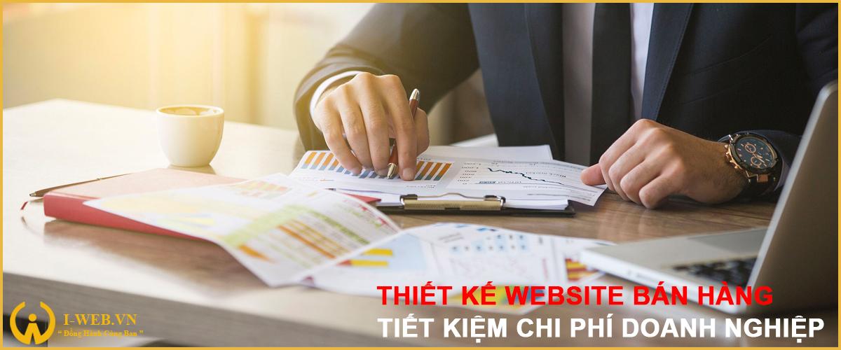 tiết kiệm chi phí khi thiết kế web bán hàng
