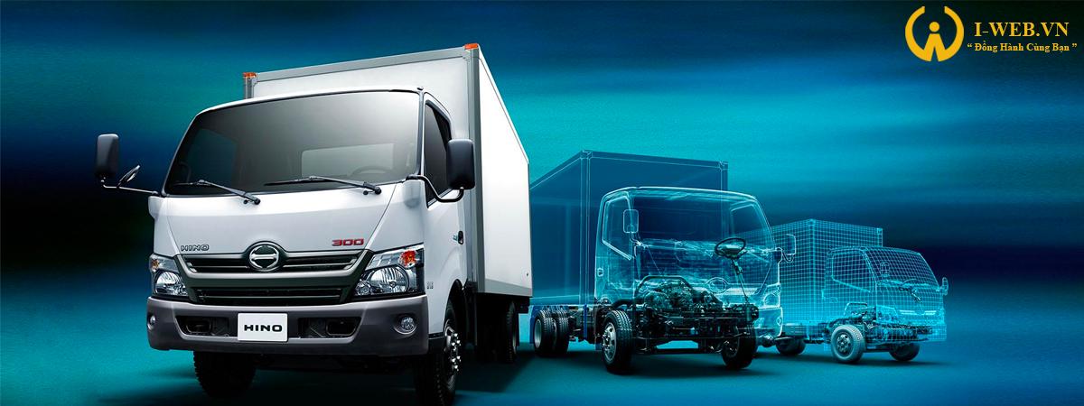 thiết kế web xe tải 2