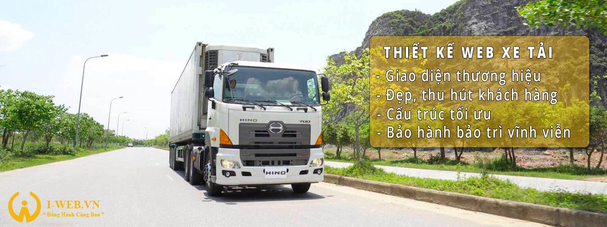 thiết kế web xe tải 3