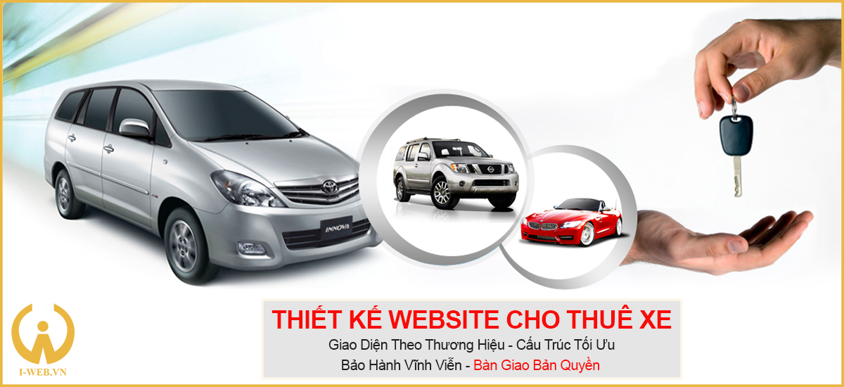 thiết kế web cho thuê xe ô tô