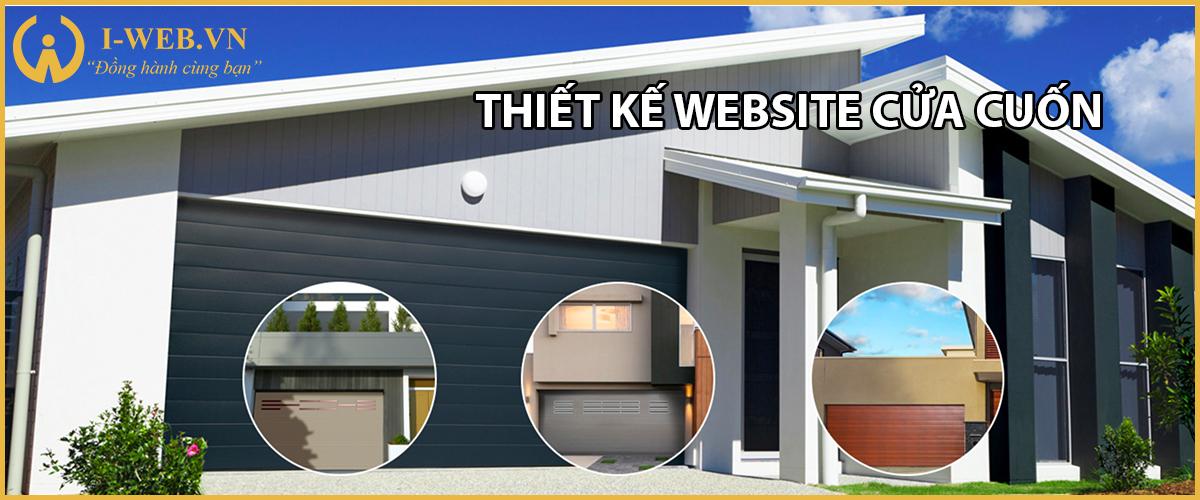 thiết kế web cửa cuốn