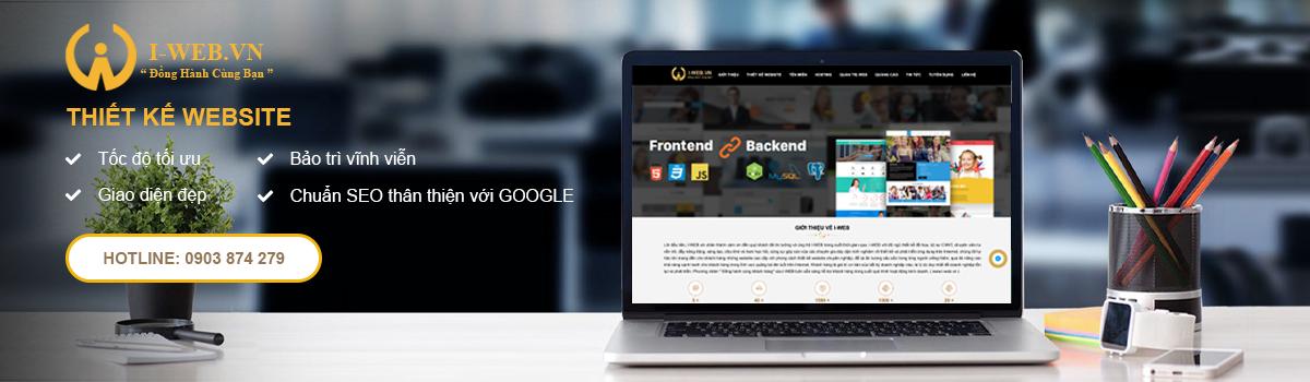 thiết kế web iweb