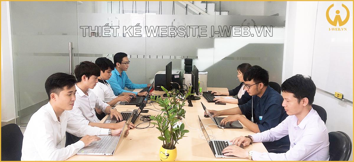 thiết kế website i-web