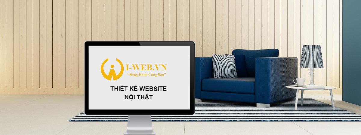 thiết kế web nội thất