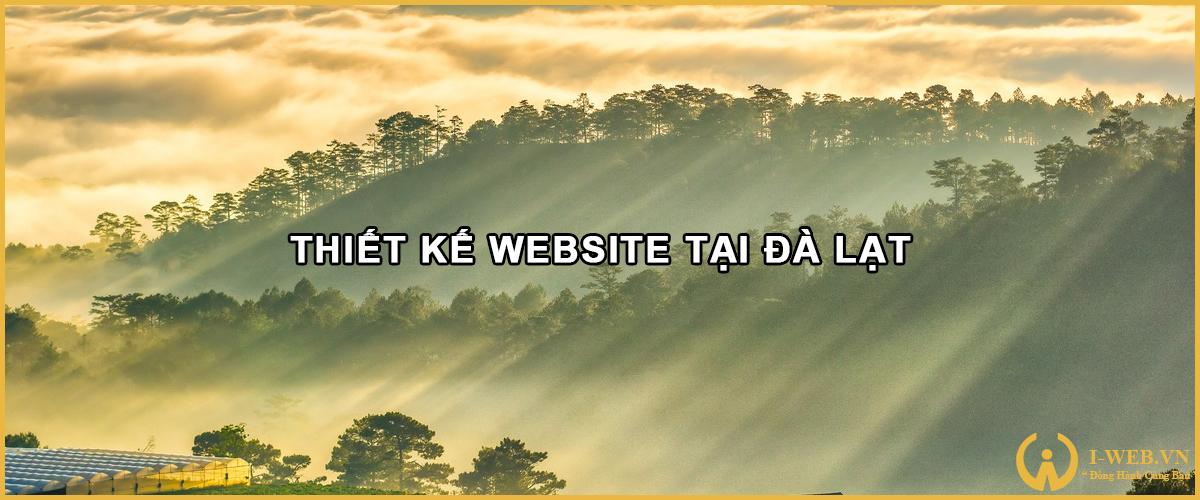 lưu ý khi thiết kế web tại đà lạt