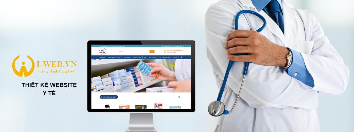 thiết kế web y tế
